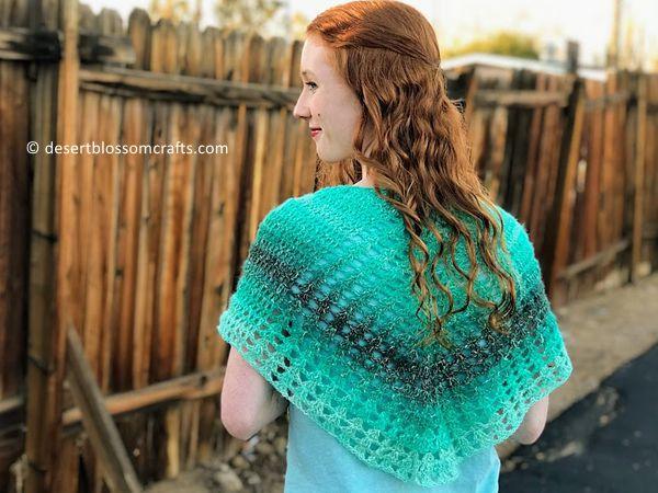 crochet Jadestone Wrap free pattern