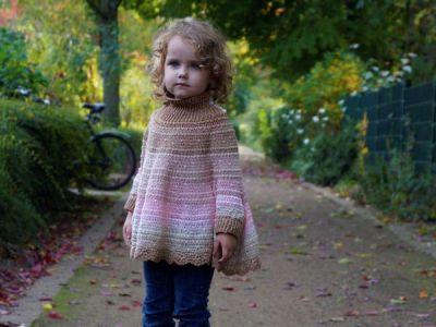 crochet Pretty Girls Poncho easy pattern