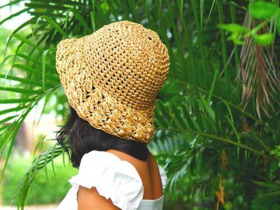 crochet Everyday Sun Hat free pattern