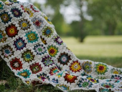 crochet Flatten The Curve Blanket free pattern