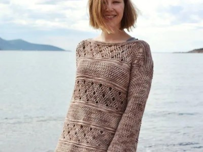 crochet Sandpiper Top easy pattern