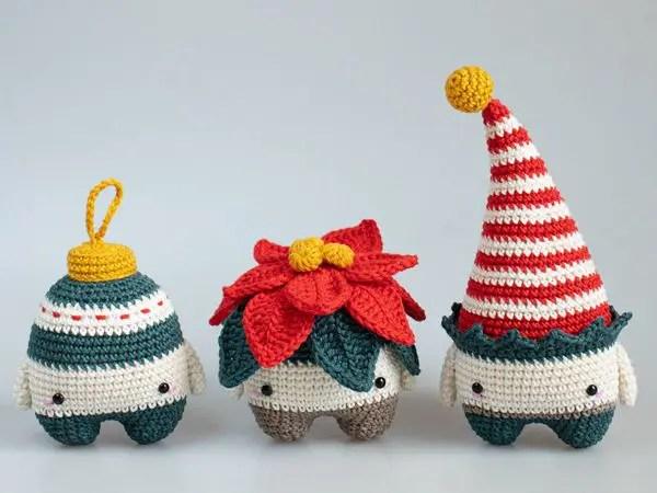 crochet lalylala X-Mas Amigurumi easy pattern