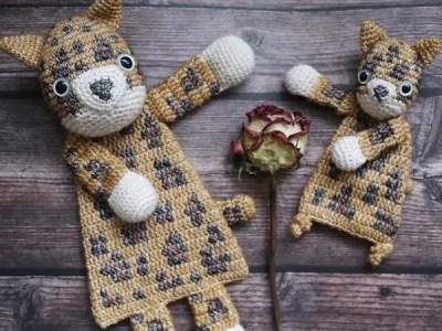 crochet Leopard Ragdoll easy pattern