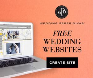 Free Wedding Website from Wedding Paper Divas