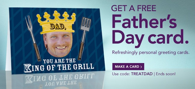 Treat Father's Day Greeting Cards