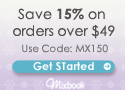 Save 15% On Mixbook Orders $49+ (Code MX105)