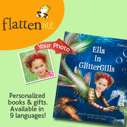 personalized books, custom book, flattenme