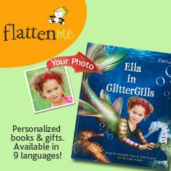personalized books, custom book, flattenme