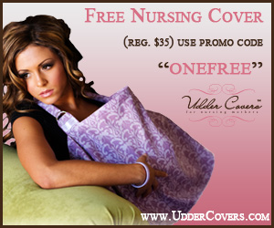 Free Nursing Cover at uddercovers.com with code ONEFREE