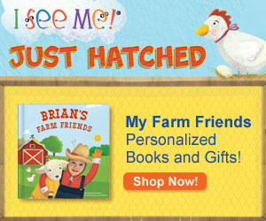 """My Farm Friends"" personalized products are live and ready to order on ISeeMe.com!"