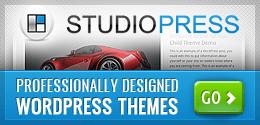 Genesis Theme Framework for WordPress by StudioPress