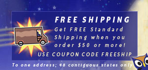et Free Standard Shipping when you order $50 or more!