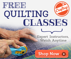 machine quilting online class at craftsy.com