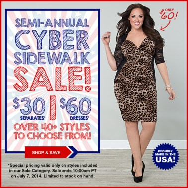 Semi-Annual Cyber-Sidewalk Sale