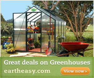 Great Deals on Greenhouses - Eartheasy.com