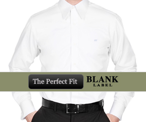 Blank Label custom made clothing - men's custom made shirts