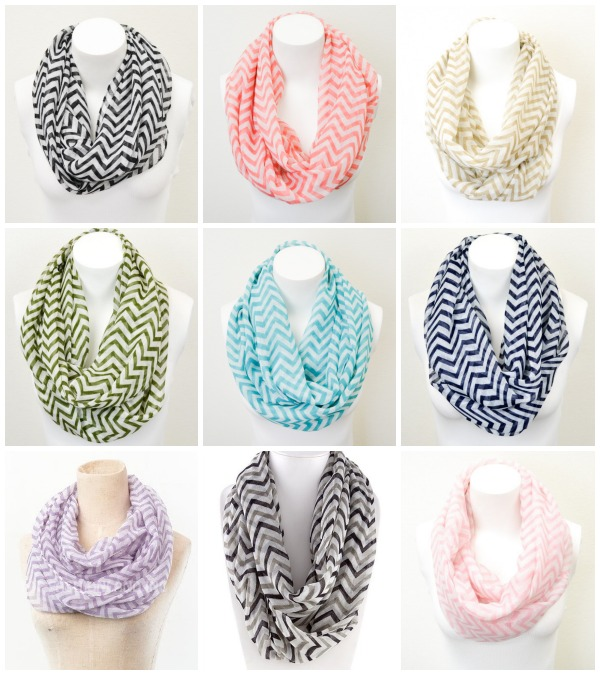 IMAGE: Fashion Friday- 11/1/13- Chevron Infinity Scarf- $7.95 & FREE SHIPPING with Code NOVEMBER1