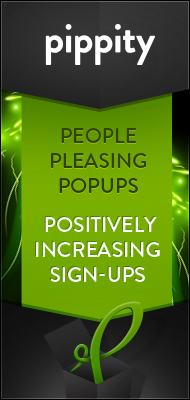 Pippity — People Pleasing Popups Positively Increasing Sign-Ups