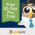 HootSuite Pro - try social media dashboard