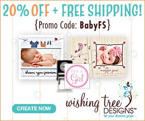 Get 20% Off + Free Shipping on Birth Announcements, Shower Invitations & More! Use promo code BABYFS at checkout. Shop Now!