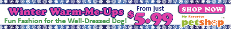 Winter Warm-Me-Ups. Fun fashion for the well-dressed dog! From just $5.99. Ends Dec. 25th, 2012. Shop now!