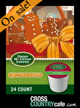Gingerbread Keurig Kcup coffee