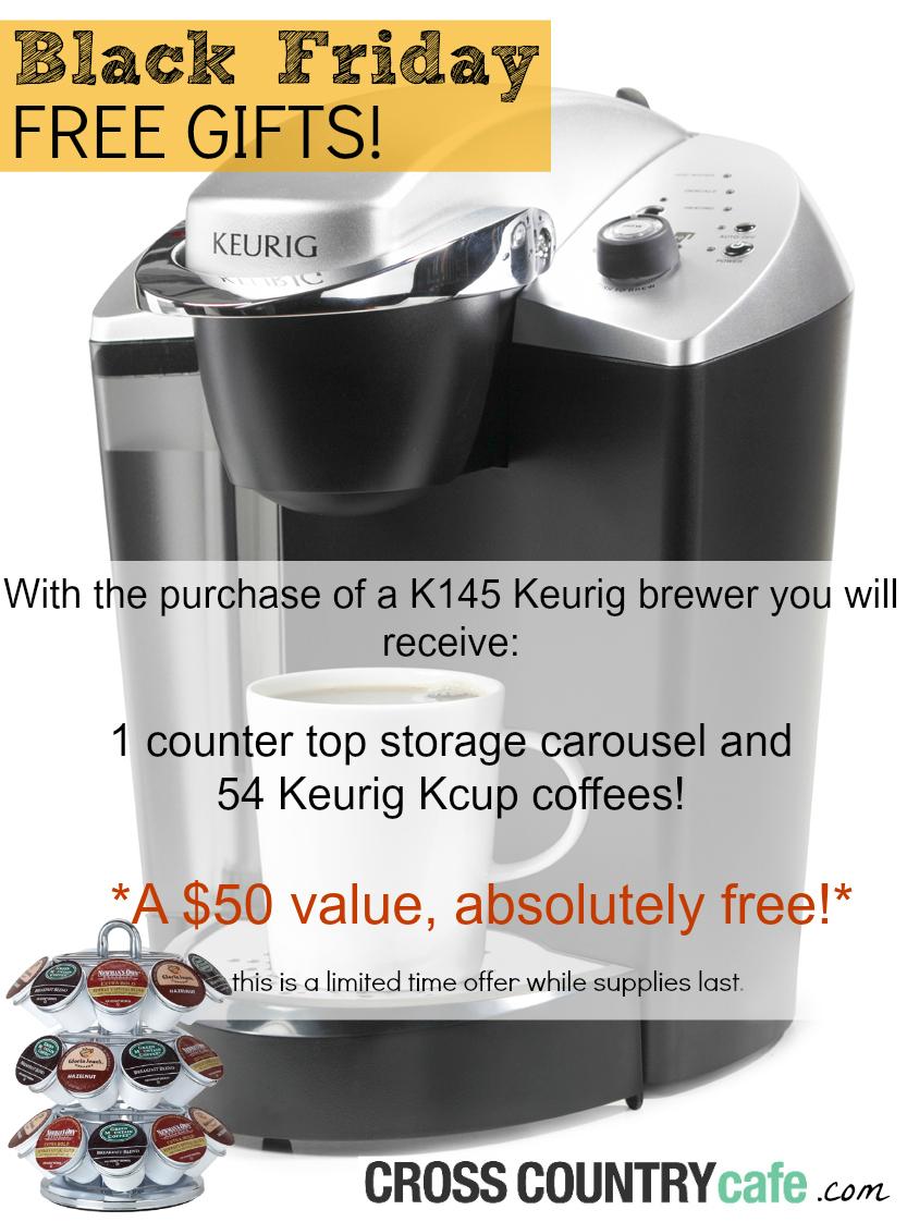 Black Friday Keurig Brewer Offer