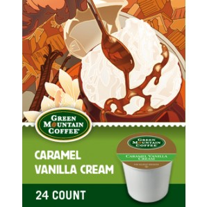 Green Mountain Caramel Vanilla Cream Keurig Kcup coffee