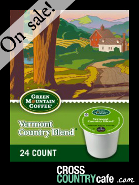 Vermont Country Blend Keurig Kcup coffee