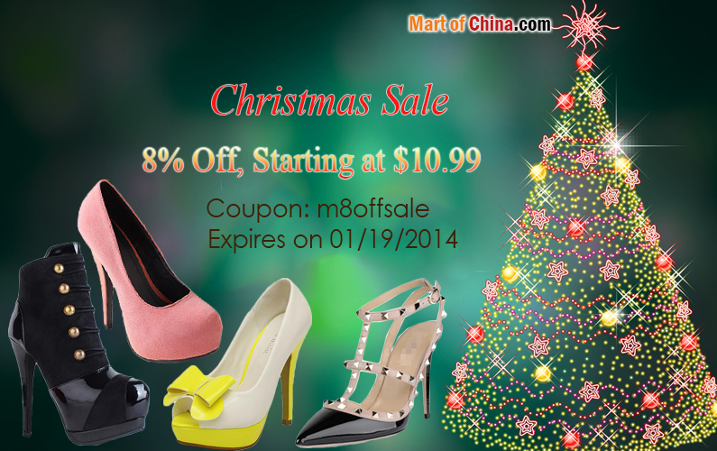 8% Off Pump Christmas Sale 795*500