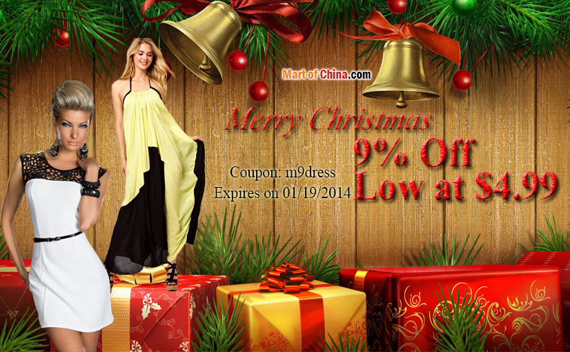 9% Off Dress Christmas 826*510
