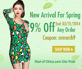 9 Off SiteWide New Spring 336*280