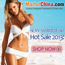 Sexy Swimwear Hot Sale 2013 of Martofchina