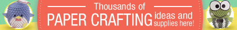 Thousands of paper crafting ideas and supplies here! Check Now!