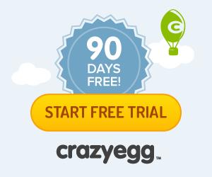 CrazyEgg.com 90 Day Free Trial
