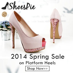 Shoespie 2014 Spring sale on platform heels, shop now!