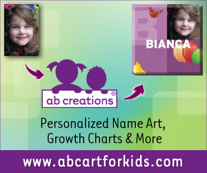 Personalized Name Art for kids