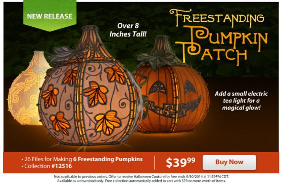 Freestanding Pumpkin Patch