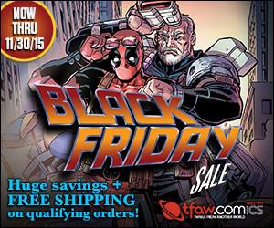 Save 30-70% on 7,000+ comics & more at TFAW.com.