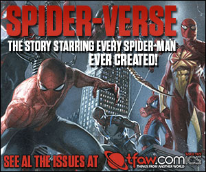 Save 10-50% on Spider-Man comics, statues, and more at TFAW.com!