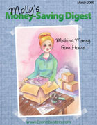 Molly's Money Saving Digest - Making Money from Home