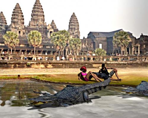 8 Cycloramas Cambodge