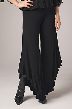 Gaucho Pants with Ruffles from WesternWomenWear.com