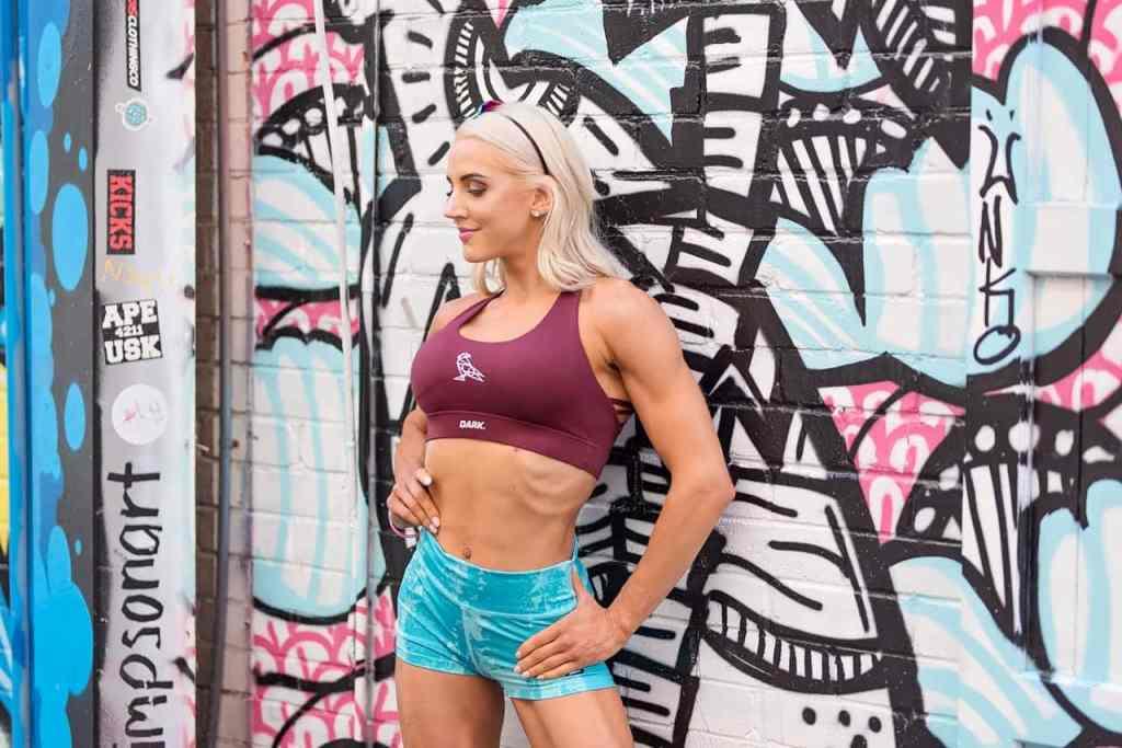 Fitness photo shoot IFBB Figure Pro Jacquie Mync Gold Coast