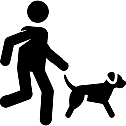 Image result for child running with dog