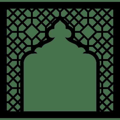 Mosque Buildings Ornament Islam Frame Arabesque