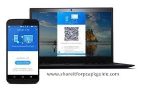 shareit for mac qr code