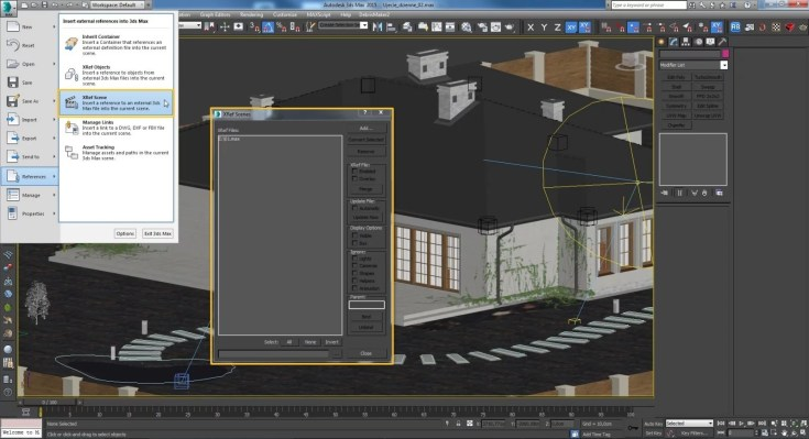 Limit the number of objects in the scene to a minimum