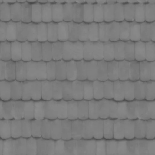 PBR roof tiles 1 displacement - roof - seamless roof, roof tiles, roof