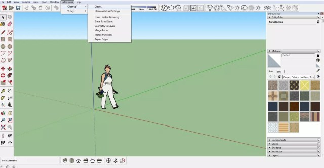 Optimization of ready models with CleanUp - Sketchup | Share
